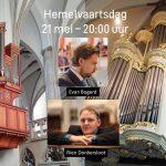 Evan Bogerd en Rien Donkersloot online vanuit Joris met Hemelvaart en Pinksteren