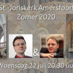 Donkersloot en Den Hertog live in Joriskerk
