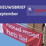 Diaconale nieuwsbrief september