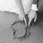 Online bruiloftsgasten in de kwartetkerken